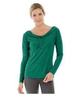 Mona Pullover Hoodlie-L-Green