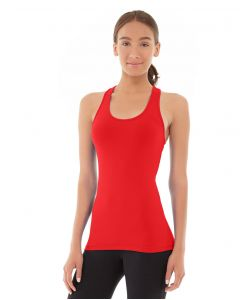 Chloe Compete Tank-M-Red